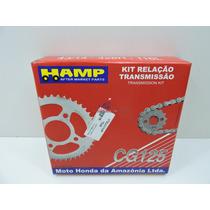 Kit Relação Cg 125 Titan 1992 A 1999 Original Honda (hamp)