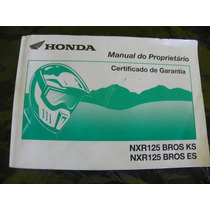 Manual Moto Honda Bros 125cc 2006