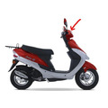Carenagem Do Farol Vermelha Jonny Scooter 50cc