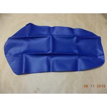 Capa Banco Honda Xr 200 Ano 2000 Azul - Sem Escrita