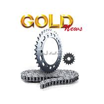 Kit Transmissão Relação Moto Gold Aço 1045 - Honda Bros 150