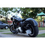 Suporte Placa Lateral Harley 883 Forty Eigth Iron Com Led