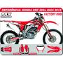 Kit De Adesivos Crf 250x 2004 2015 -qualidade 3m