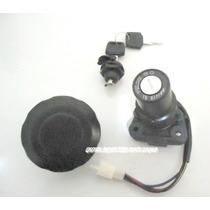 Kit Chave Ignição Ybr 125 E Xtz 125 (4 Fios)