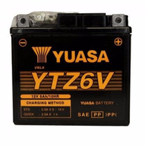 Bateria Ytz6v Yuasa Titan150/xre300/nxr150/fan125