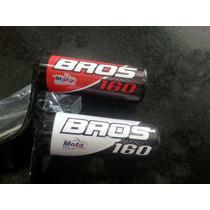 Protetor Motor Slider Bros 160 Preto/vermelho Miguel Motos
