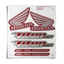 Kit Jogo Adesivo Honda Titan150 Ex 2013 Vermelha