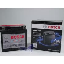 Bateria De Moto Bosch Em Gel Honda Nxr 150 Bros Ks 2003 À 12