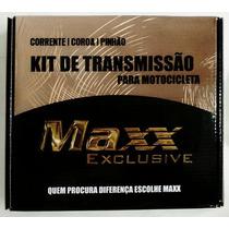 Kit De Transmição (relação) Dafra Super 100 Super Reforçada