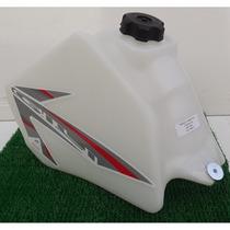 Tanque Combustível Branco Honda Xr200 Xlr125 Nx150 Nx200