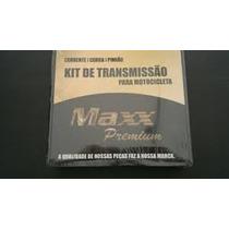 Kit Relação Pinhão Coroa Corrente Transmissão Yamaha Xt 660