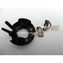 Escova Motor Arranque C/ Mesa Completa Ybr 125cc