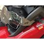 Protetor De Farol Em Aço Inox E Acrílico Para Bmw R1200 Gs