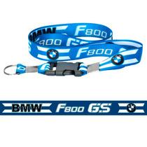 Chaveiro Cordão Com Fecho Moto Bmw F800 Gs