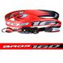 Chaveiro Cordão Com Fecho Moto Honda Bros 160