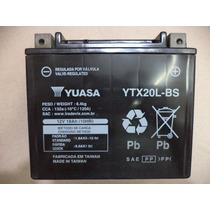 Bateria Yuasa Ytx20l-bs - Xvz 1300 / Royal Star / Harley Fxd