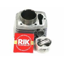 Kit Preparado Nx/cbx/xr 200 C/pistão Crf 230 C/comando Bravo