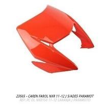 Carenagem Farol Nxr150 Bros 2011 Laranja S-adesivo