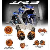 Kit Slider Procton Racing F1 Para Yamaha R3