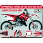 Kit De Adesivos Cr 125 95-97 250-95-96- Alpinestars- Qual 3m