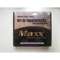Kit Relação Transmissão Maxx Honda Cb 500 Sem Ret. Aço 1045