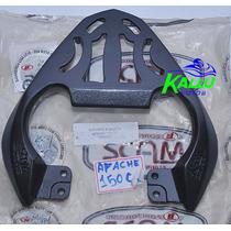 Bagageiro Dafra Apache 150 Preto Scam Kallu Motos