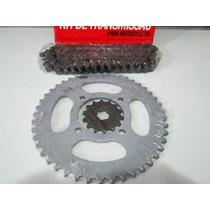 Kit Transmissão Ybr 125 2003/2008, Factor 2009, Y04260t