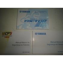 Novo Manual Moto Yamaha Factor Ybr 125 2012 2013 2014 E K Ed