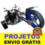 Projeto De Triciclo Motorizado + Brinde + Frete Grátis