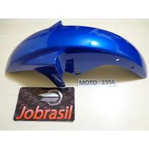 Moto 2356 Paralama Dianteiro Ybr 125 200.2001 Até 2008 Azul