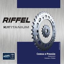 Kit Relação Honda Cg 150 Titan Sport (05-) 42z Sem Corrente