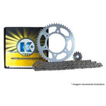 Kit Transmissão/relação K Para Cb 500 1997 A 2004 Aço 1023