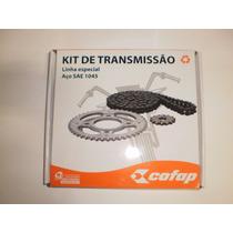 Kit Relação Transmissão Fazer-250 Aço 1045 Cofap