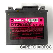 Bateria Htz6 Honda Xre 300 Titan 150 Es Biz 125 Es Original