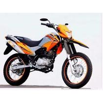 Para Lamas Com Protetor Garfo Yamaha Xtz 250 X Lander Motard