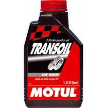 Óleo Motul Transoil 10w30 Todas Motos 2t E 4t 1 Litro