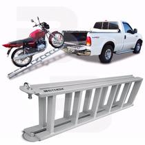 Rampa Para Subir Moto Caçamba Pickup Universal Dobrável