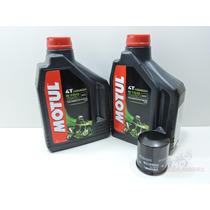 Kit Troca Oleo Motul 4t 5100 15w50 4 Litros + Filtro Fram