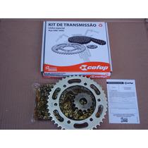 Kit Relaçao Transmissao Fazer Ys 250 Cofap Aço 1045t