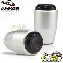 Slider Dianteiro Anker Cb 300 R - Prata - Honda