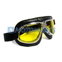 Óculos Goggles P/capacete Aberto Lentes Ambar