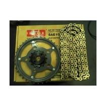 Relação Kit Transmissão Did Gold C/retentor Dourada Cb 300