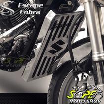 Protetor Radiador Mod Cobra Cromado Boulevard 1500 M Suzuki