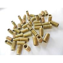 100 Roscas Postiça Interno M6 X 1,0 Ext M8 X 1,25 Bucha 4202