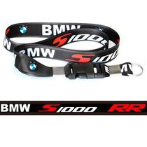Chaveiro Cordão Com Fecho Moto Bmw S1000rr