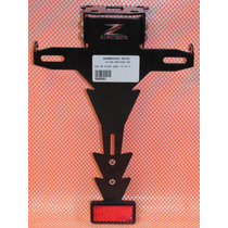 Suporte Placa Eliminador Z 800 Articulado Bombachini Motos