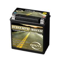 Bateria Selada Route Mod Ytx12la-bs P/ Motos 12 Volts 10 Ah