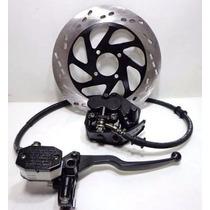 Sistema De Freio Dianteiro Completo Suzuk Yes 125 C/ Disco