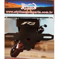 Eliminador De Rabeta R3 2015 Com Luz De Placa E Pisca Led.