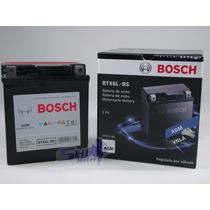 Bateria De Moto Bosch Gel Honda Nx4 Falcon 2005 À 2009 Btx6